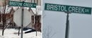 street_sign Bristow Creek